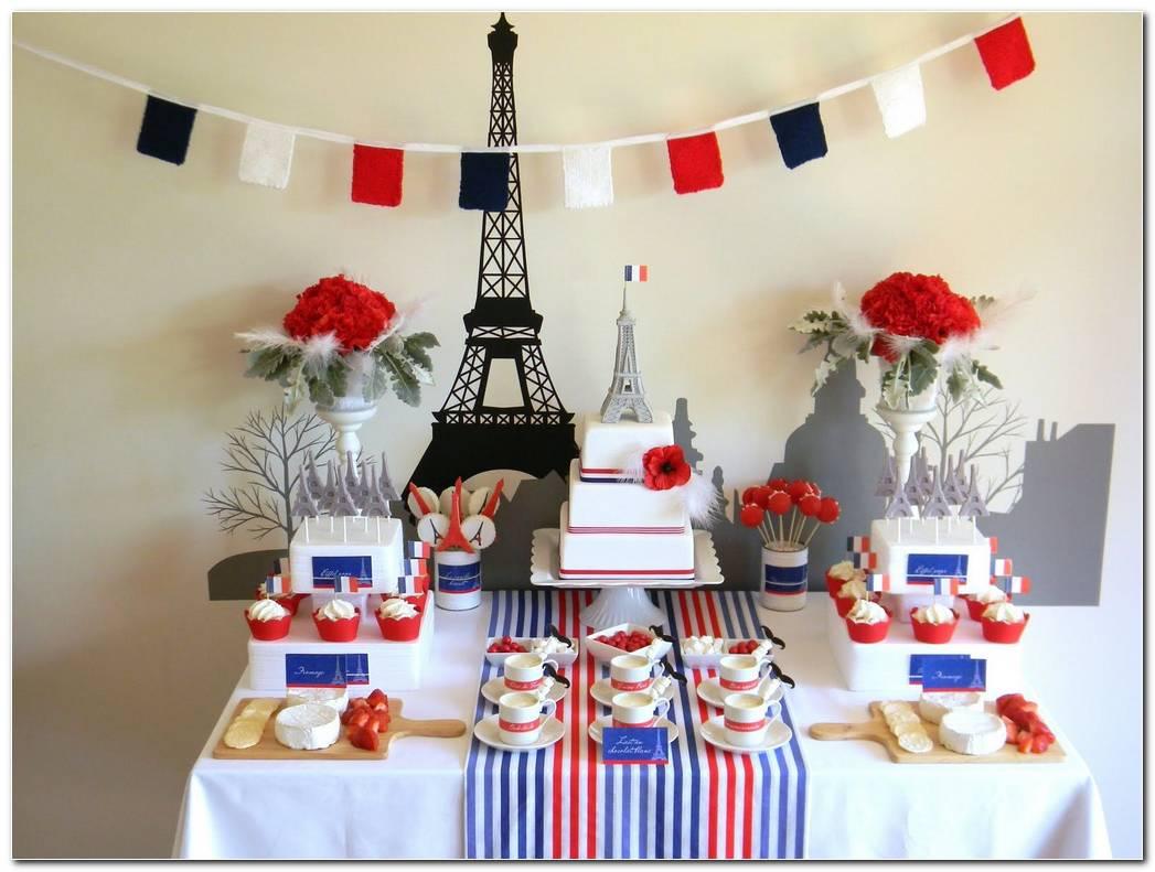 Decoracion Fiesta Tematica Francia
