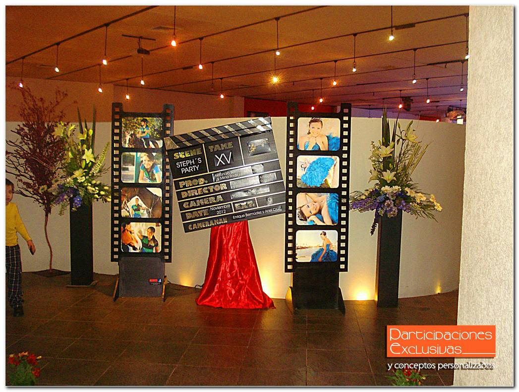 Decoracion Fiesta Tematica Hollywood