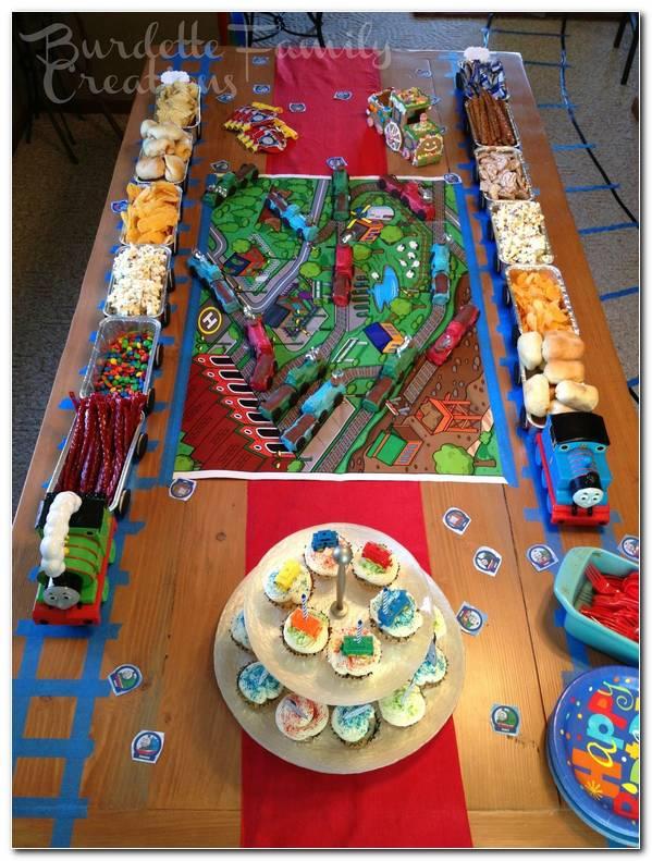 Decoracion Fiesta Thomas Y Sus Amigos