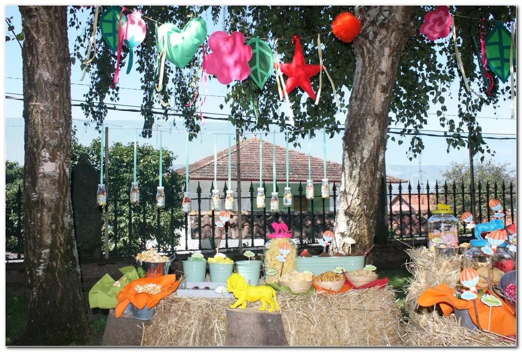 Decoracion Fiestas Infantiles Al Aire Libre
