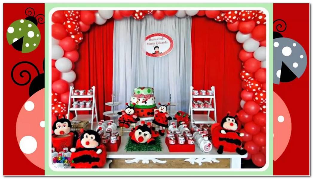 Decoracion Fiestas Infantiles Mariquita