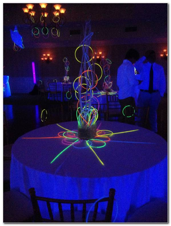 Decoracion Fluorescente Para Fiestas