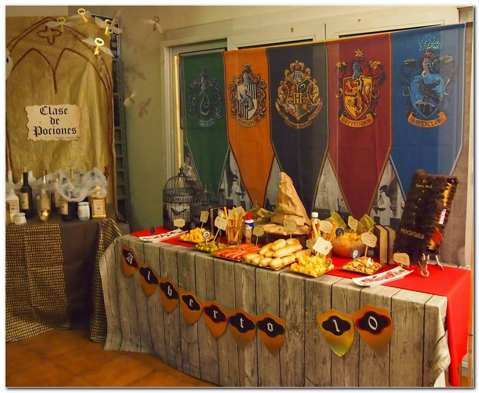 Decoracion Harry Potter Fiestas