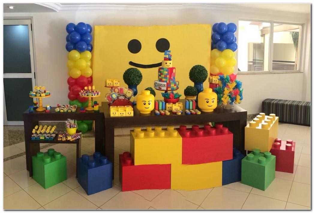 Decoracion Lego Para Fiestas Infantiles