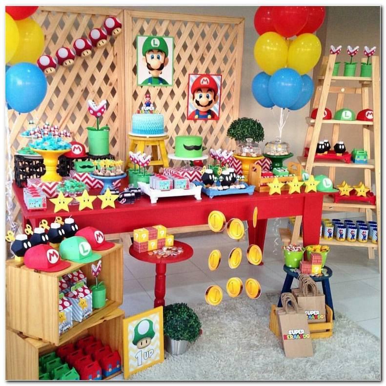 Decoracion Mario Bros Fiestas Infantiles