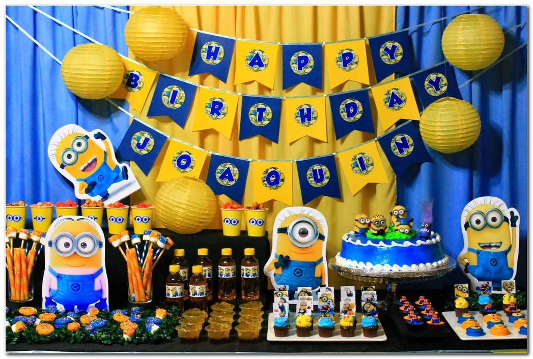 Decoracion Minions Para Fiestas Infantiles