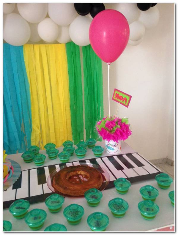 Decoracion Musical Para Fiesta