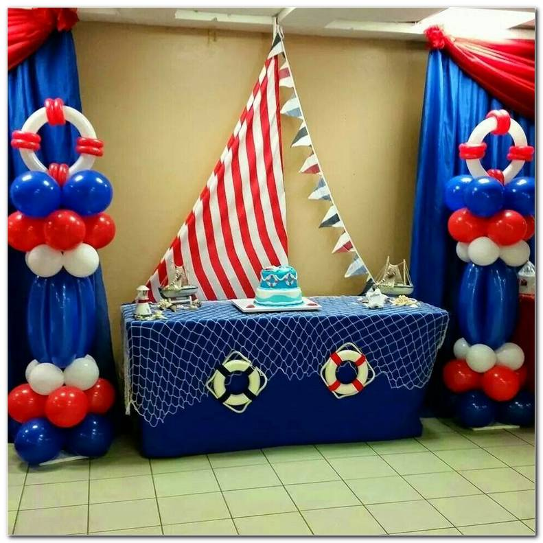 Decoracion Nautica Para Fiestas