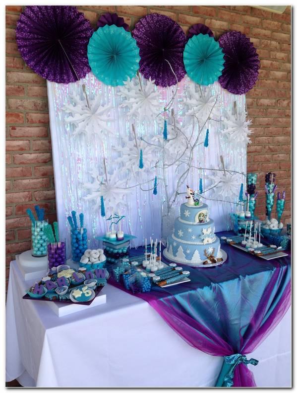 Decoracion Para Fiesta De Cumplea?os De Frozen