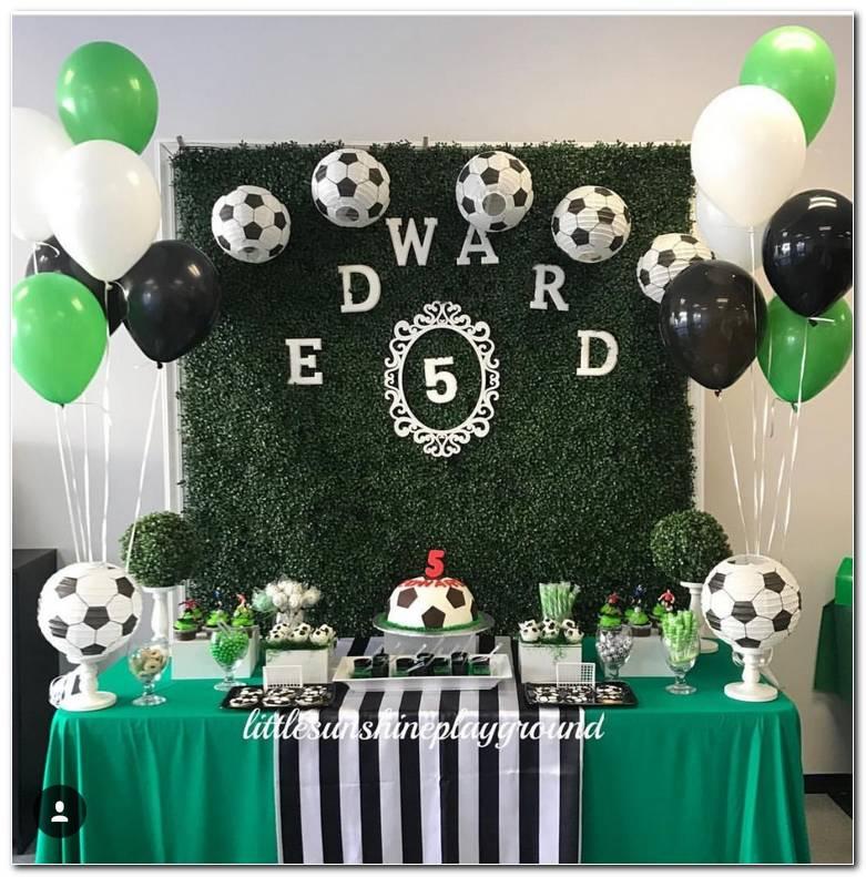 Decoracion Para Fiesta De Cumplea?os De Futbol