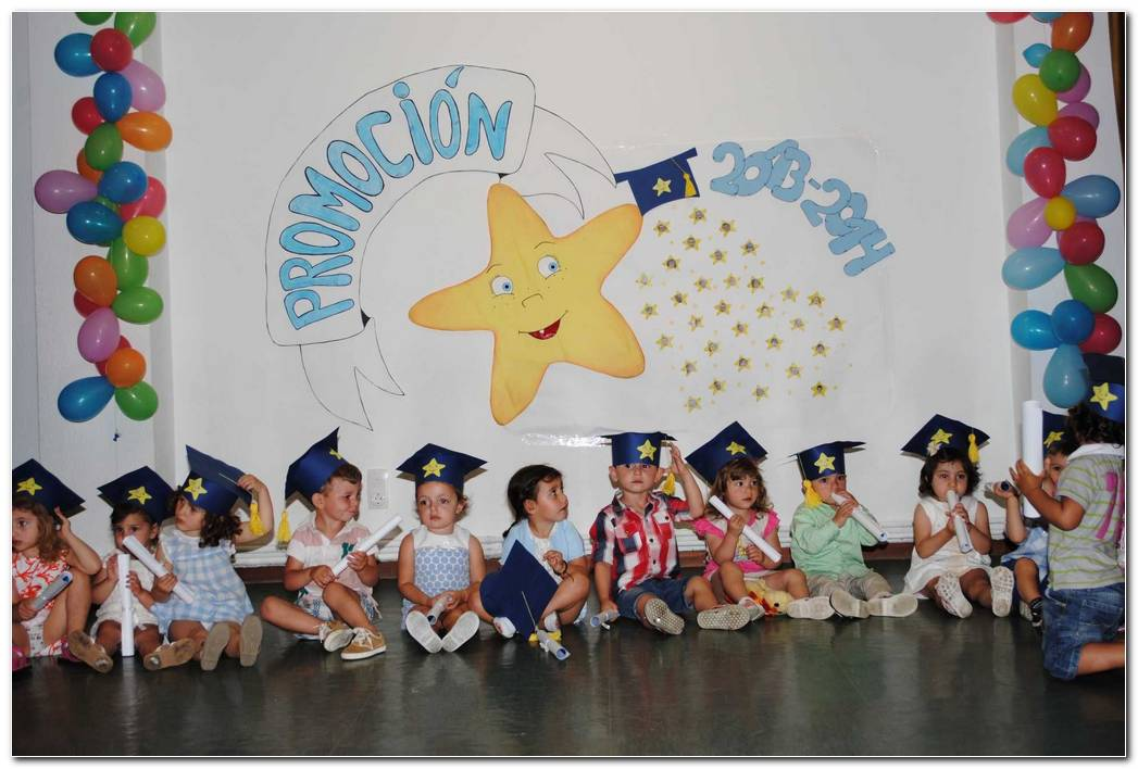 Decoracion Para Fiesta De Graduacion Infantil