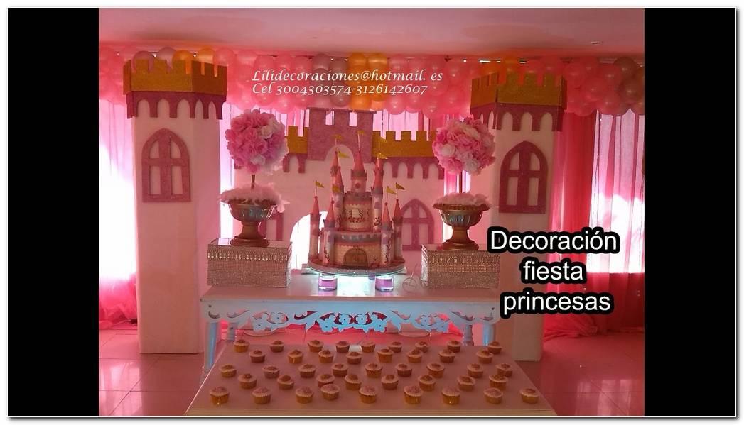 Decoracion Para Fiesta De Princesas
