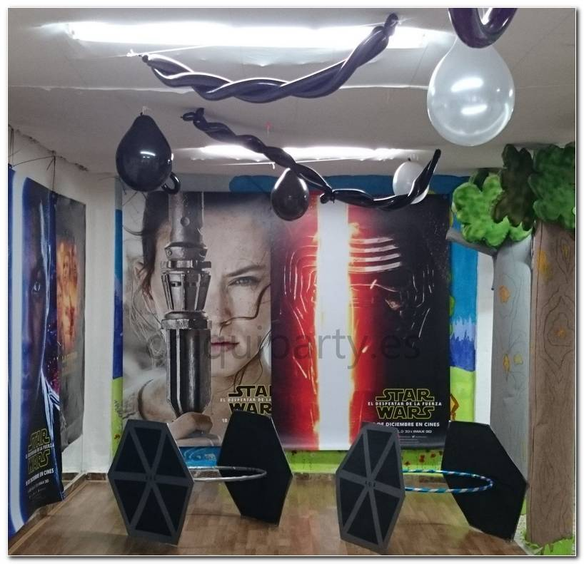 Decoracion Para Fiesta Star Wars