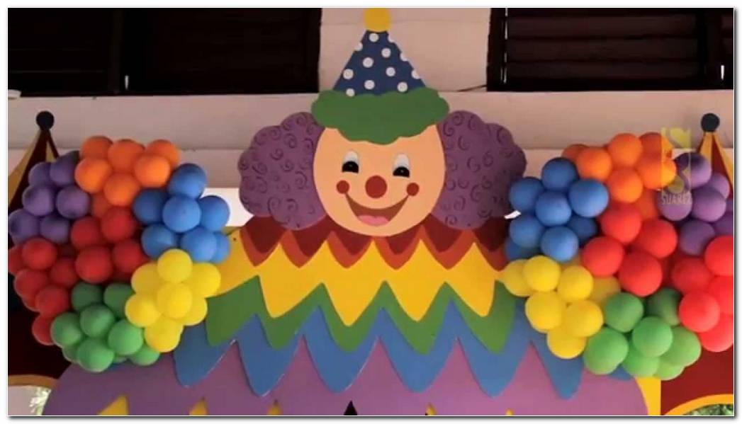 Decoracion Payasos Fiestas Infantiles