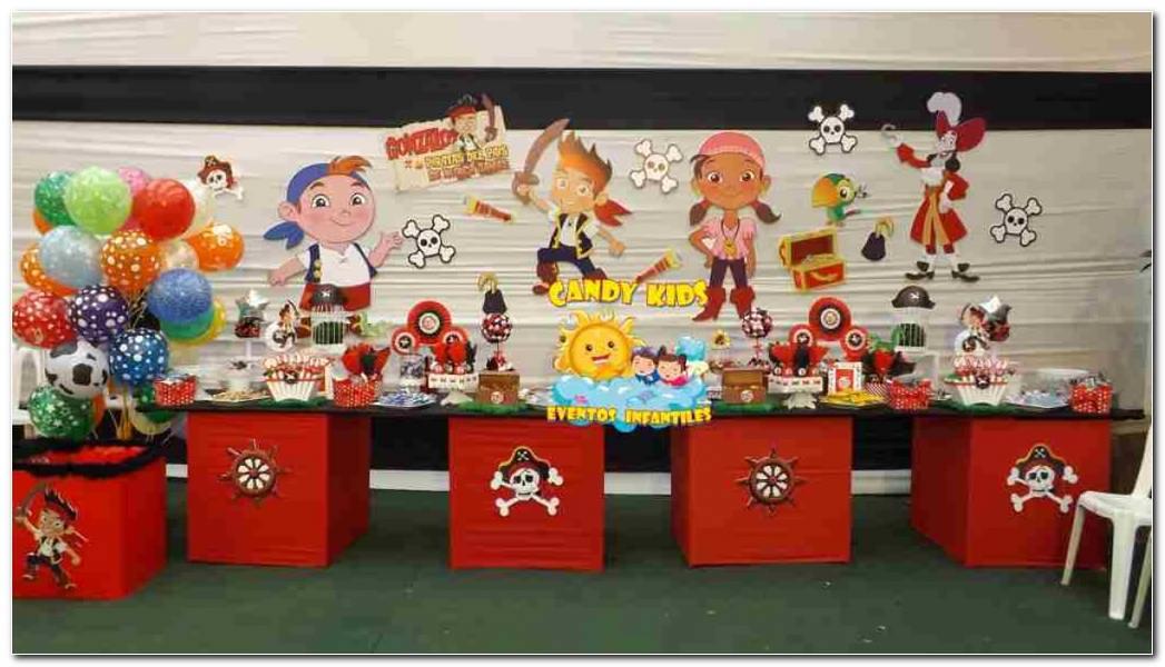 Decoracion Piratas Fiestas Infantiles