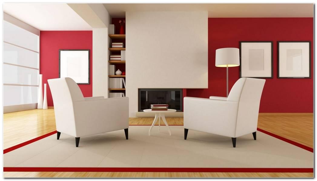 Decoraciones De Interiores En Color Rojo