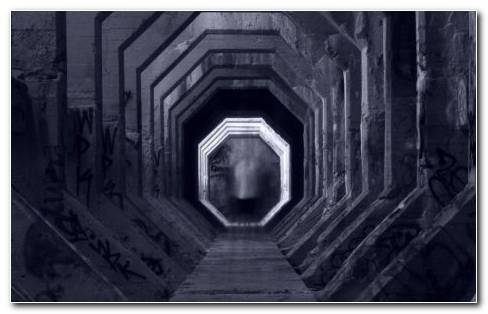 Deep Tunnel HD Wallpaper