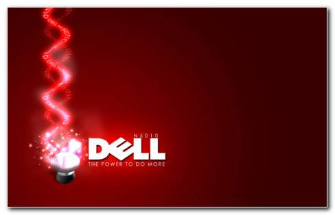 Dell Red HD Wallpaper