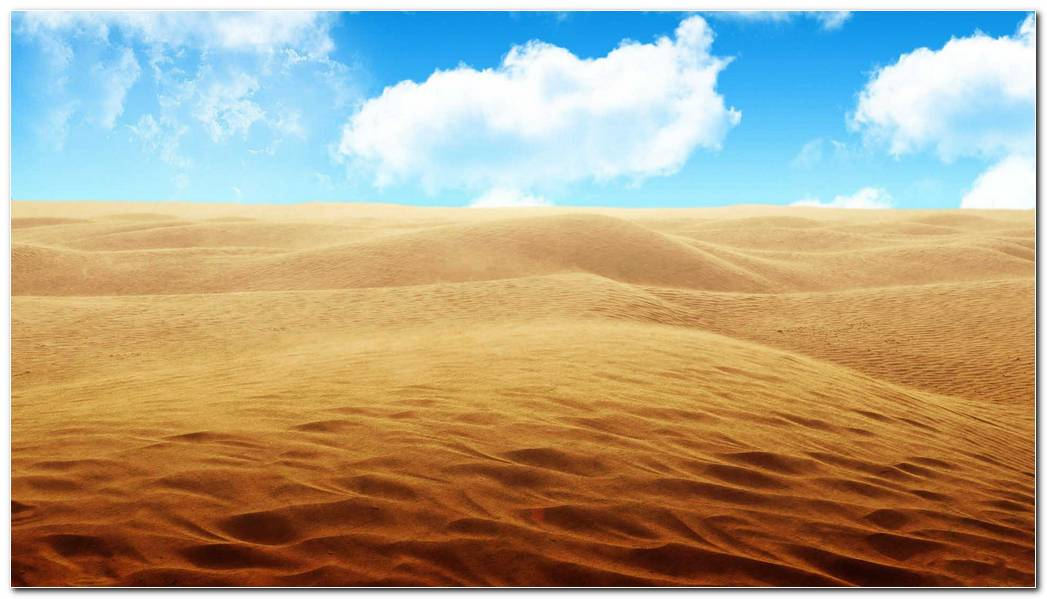 Desert Nature Wallpaper Background Image
