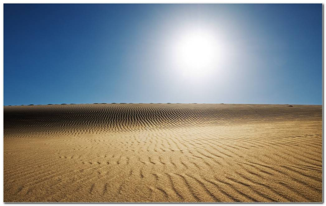 Desert Nature Wallpaper Image