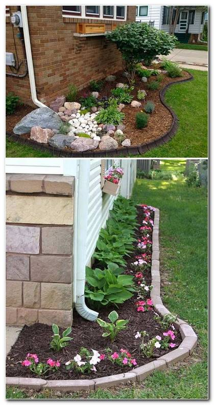 Design A Small Side Yard Garden Under The Downspout Sideyardgarden Downspoutlandscape