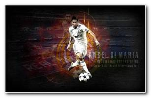 Di Maria HD Wallpaper