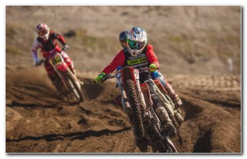 Dirt Bikes HD Wallpaper