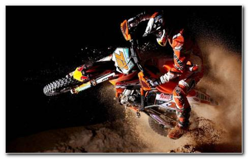 Dirt Bikes Drifting HD Wallpaper