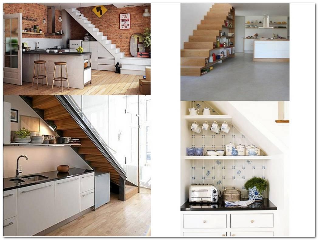 Dise O De Cocinas Bajo Escaleras