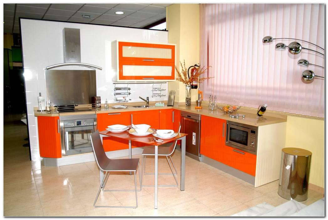 Dise O De Cocinas Naranjas