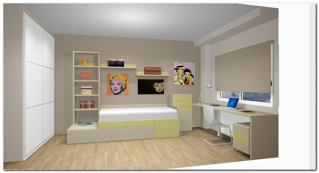 Dise O De Dormitorio Juvenil 2015