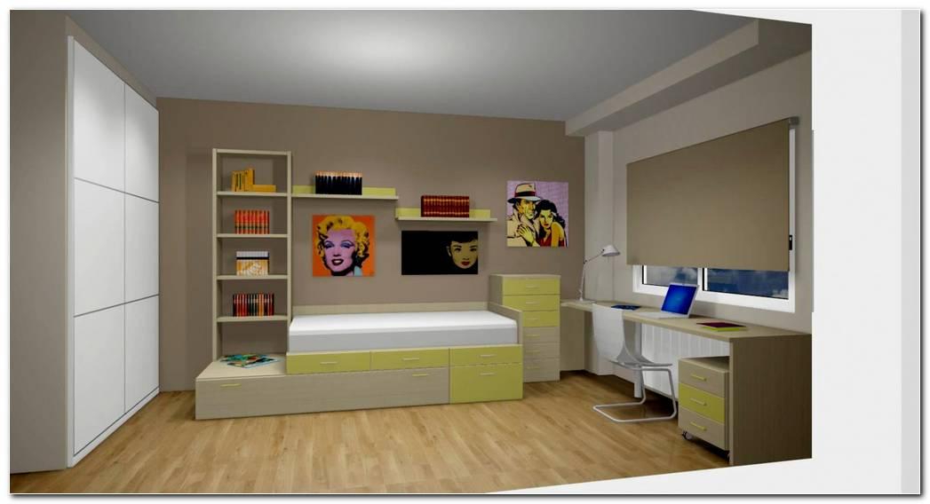 Dise O De Dormitorio Juveniles Modelos