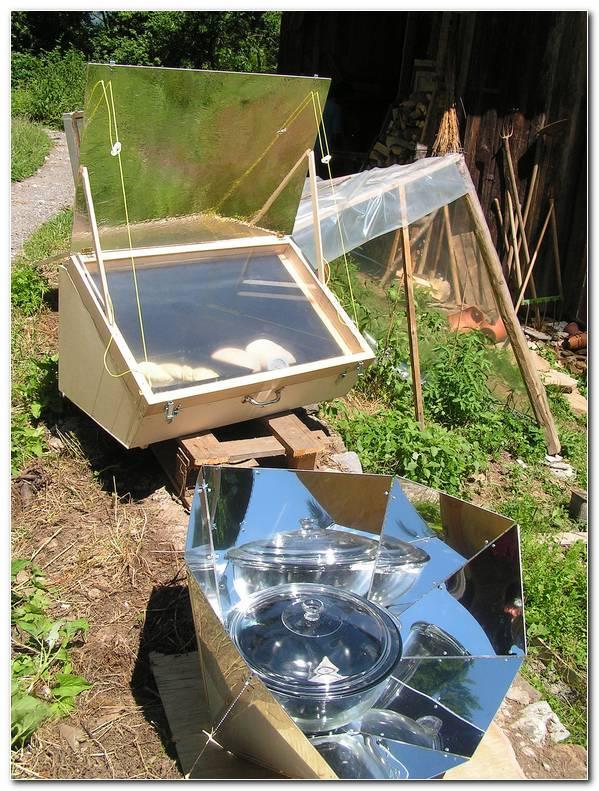 Dise O De Una Cocina Solar