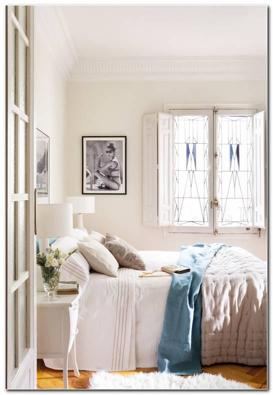 Dormitorio Beige Y Blanco