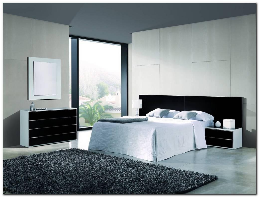 Dormitorio Blanco Y Negro Moderno