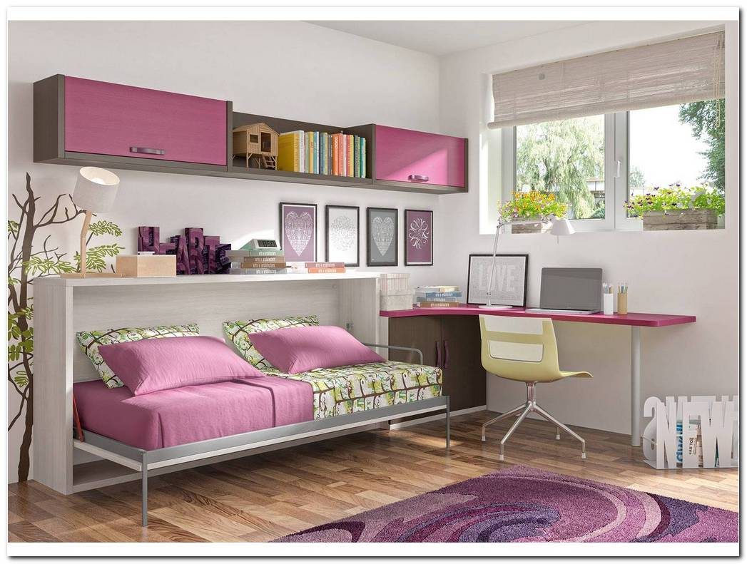 Dormitorio Cama Abatible Horizontal