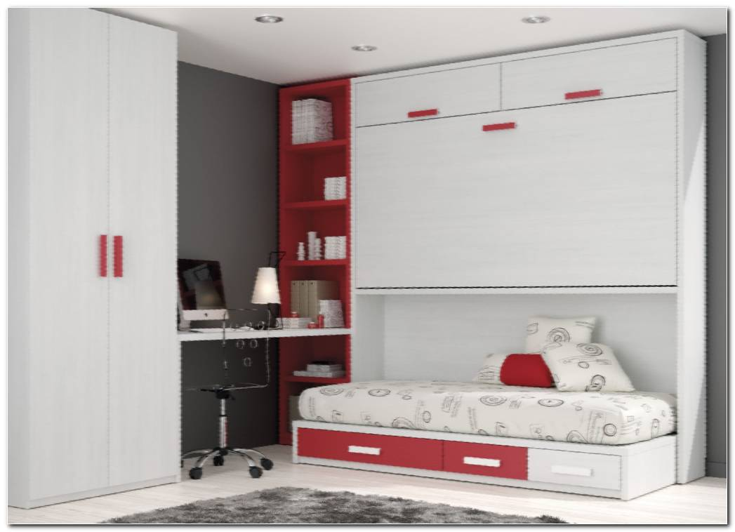 Dormitorio Cama Abatible Vertical