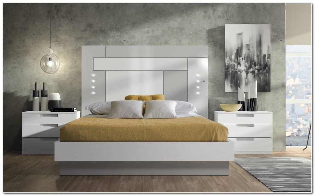Dormitorio Gris Y Blanco