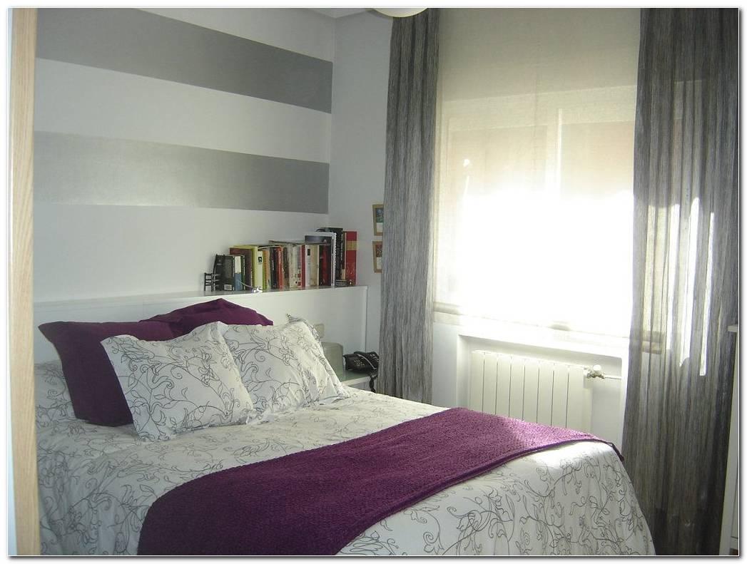 Dormitorio Gris Y Morado
