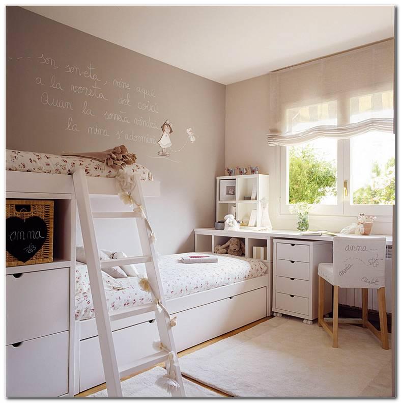 Dormitorio Infantil Con Escritorio