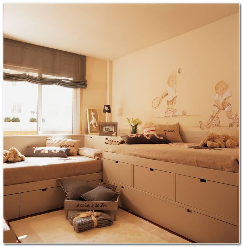 Dormitorio Infantil En L