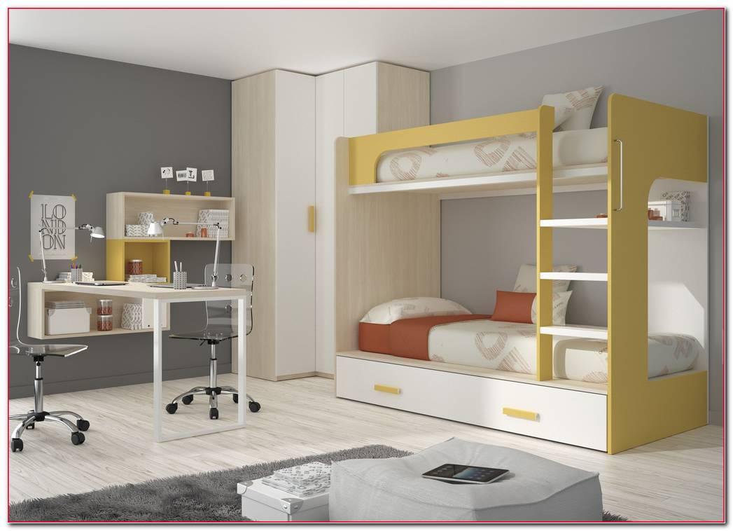 Dormitorio Juvenil 3 Camas