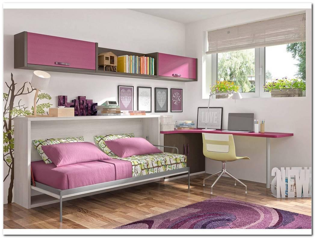 Dormitorio Juvenil Cama Abatible
