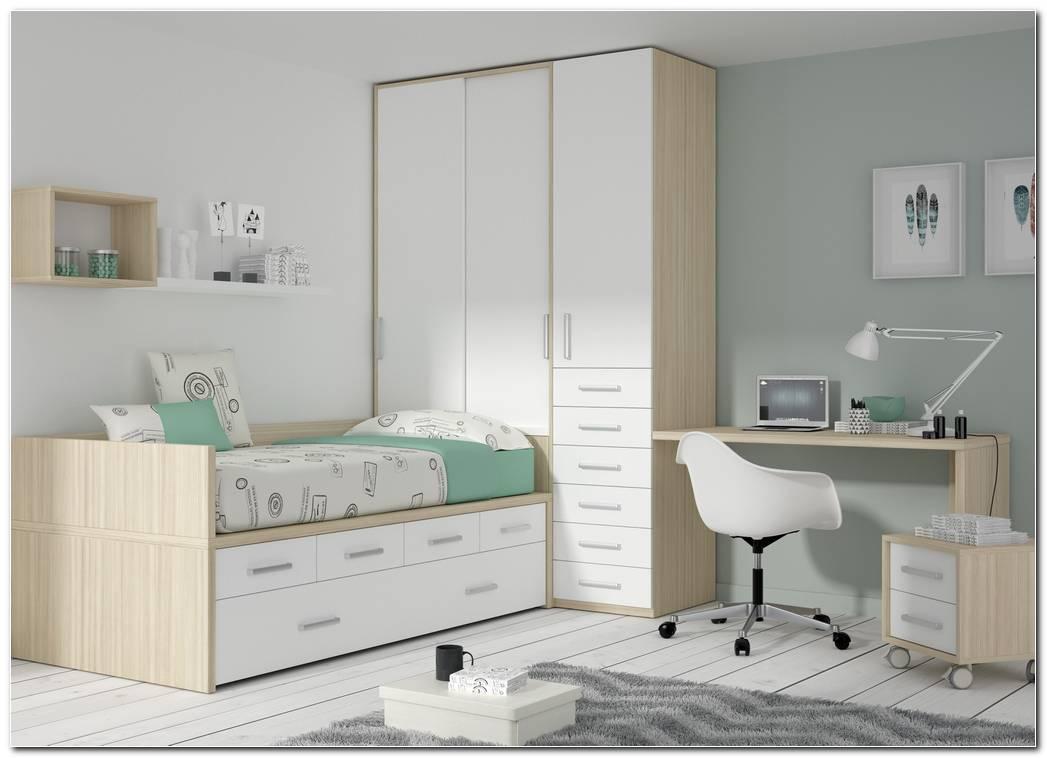 Dormitorio Juvenil Cama Compacta
