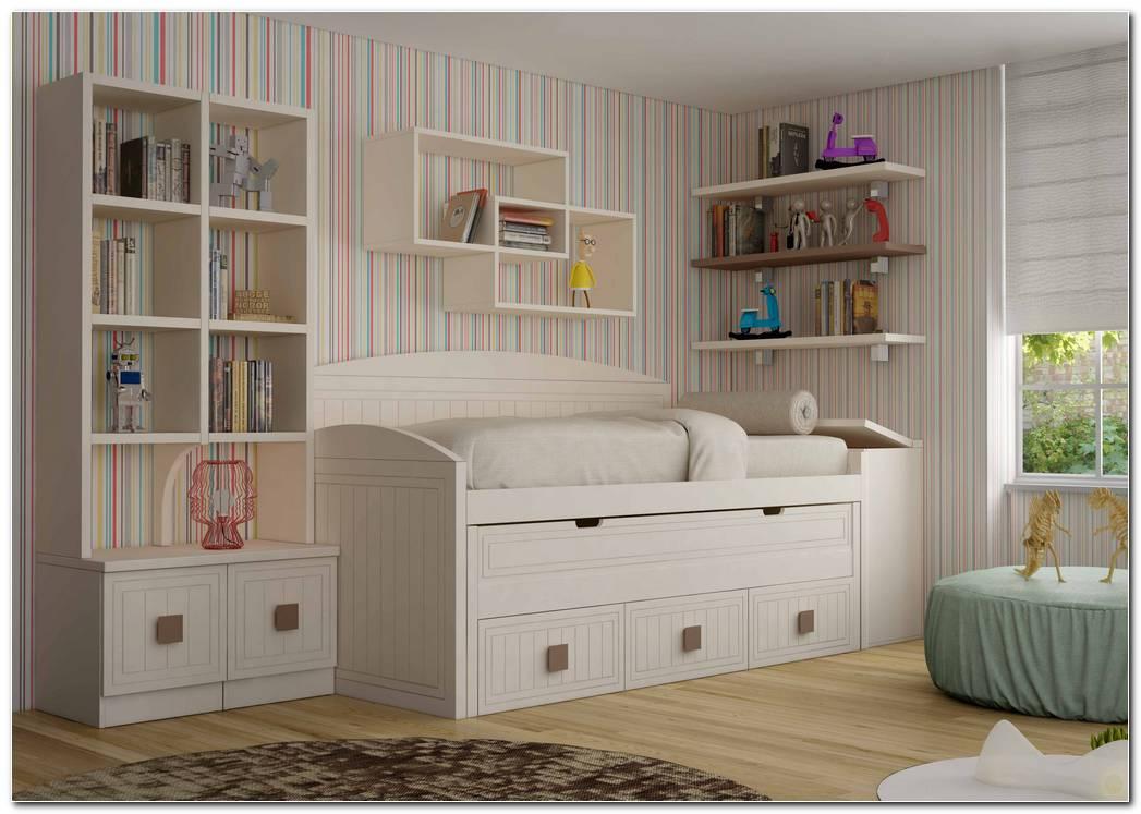 Dormitorio Juvenil Compacto Doble