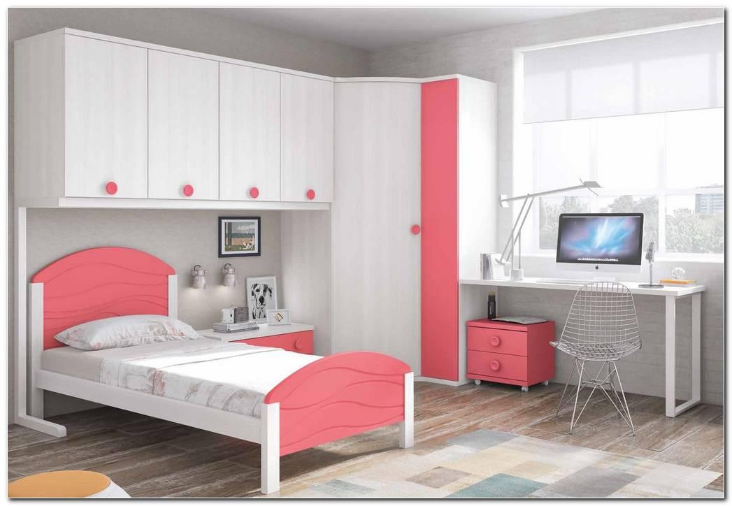 Dormitorio Juvenil Ni?a Blanco