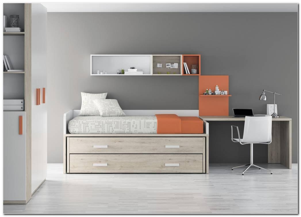 Dormitorio Juvenil Tres Camas