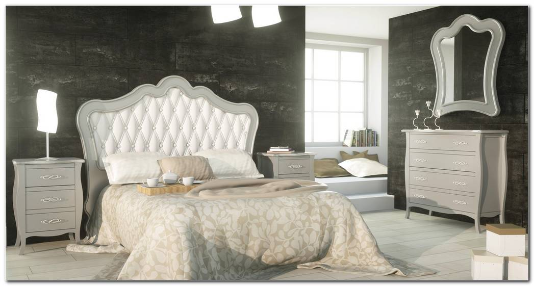 Dormitorio Matrimonio Clasico Blanco