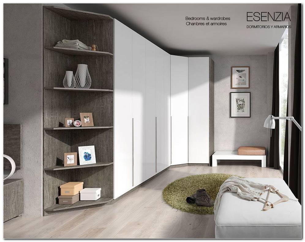 Dormitorio Matrimonio Con Armario Esquinero