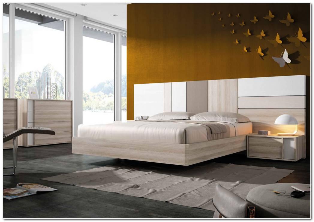 Dormitorio Matrimonio Moderno Blanco